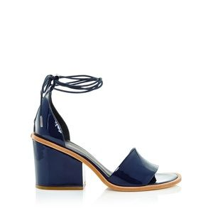7c4b6597b79e Tibi Shoes - Tibi Navy Clark Sandals - sz 8.5